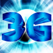 Stock Photo: 3G network symbol