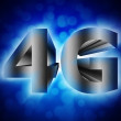 4G network symbol — Stock Photo