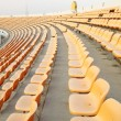 Seats at sports stadium — Stock Photo
