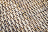 Brown wicker texture — Stock Photo
