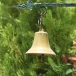 Stock Photo: Small golden bell