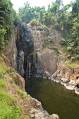 Heaw Na Rok waterfall in tropical forest, Khao Yai national park — Stock Photo