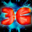 3G network symbol — Stock Photo