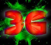 Symbole du réseau 3g — Photo