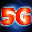 Stock Photo: 5G network symbol