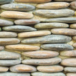 Circle stone wall background — Stockfoto