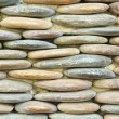 Circle stone wall background — Stok fotoğraf
