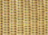 Wicker texture background — Stock Photo