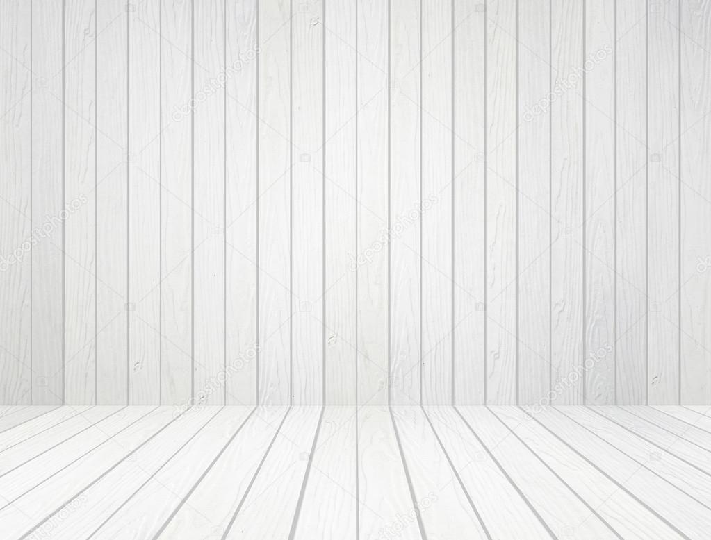 白木墙和木地板背景