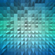 Stock Photo: Abstract background with pyramid extrude