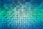 Abstract background with pyramid extrude — Stock Photo
