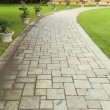 Stone walkway — Stock Photo