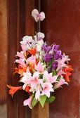 Beautiful flower decoration — Stock Photo