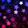 Abstract magic star background — Stock Photo
