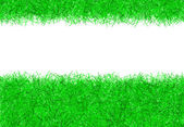 Green christmas tinsel texture background — Stock Photo