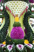 Thai flower texture decoration — Stock Photo