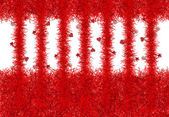 Abstract background with christmas tinsel texture — Stock Photo