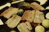 Korean barbecue Yakiniku — Stock Photo