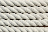 White rough rope texture  — Stock Photo