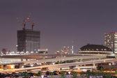 Odaiba, Tokyo cityscape — Stock Photo