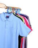 Hanging Polo shirt — Stockfoto