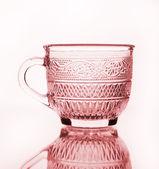 Empty cup glass — Stockfoto