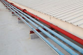Industrial pipe — Stock Photo