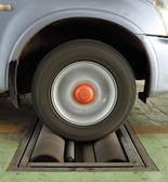 Auto bremse testsystem — Stockfoto
