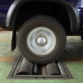 ブレーキ車のテスト システム — ストック写真