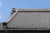 Japanese roof style — Stock Photo