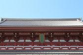 Japanese roof style — Stock Photo