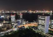 Tokyo cityscape at night — Stock Photo