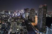 Tokyo cityscape akşam — Stok fotoğraf