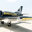 Breitling Jet Team Under The Royal Sky — 图库照片