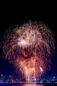 Fireworks international Fastival — Stock Photo