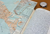 1900s Travel Guide — Stock Photo