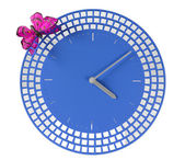 Zegar ścienny nowoczesny — Zdjęcie stockowe