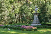 In the Public Garden of Trieste — Stock Photo
