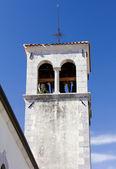 1700-talet land kyrkans klockstapel — Stockfoto