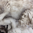 Stock Photo: Marble Statue of Triton