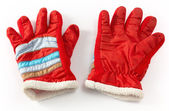Winter Red Gloves — Stockfoto