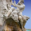 Royalty-Free Stock Photo: Close-up on Fontana dei Quattro Fiumi in Rome