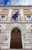 Rear Facade of Montecitorio Palace — Stock Photo