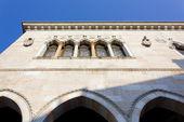 View of Loggia del Lionello in Udine — Stock Photo