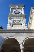 Udine içinde saat kulesi — Stok fotoğraf