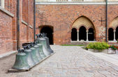 View of the Courtyard of the Lutheran Cathedral in Riga — Stock Photo