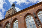 View of Lutheran Cathedral in Riga — Stock Photo