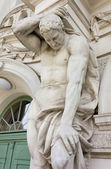 Neoclassic Male Statue — Stock Photo