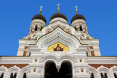 Orthodox Cathedral in Tallinn — Stock Photo