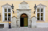 House of the Brotherhood of Blackheads in Tallinn — Stock Photo